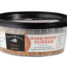 Dukkah – Warm Spiced (formerly Chilli) 150gm