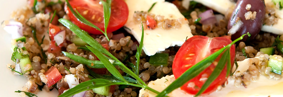Enjoy a healty & good meal with quinoa! See our recipes.