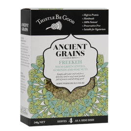 Freekeh with Green Lentils, Almonds and Pine Nuts 240gm
